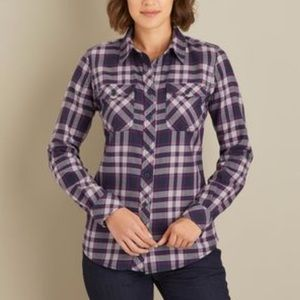 🏕 Crosscut Wicking Flannel Shirt - XS